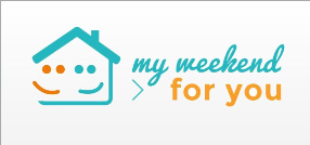 My weekend for you logo