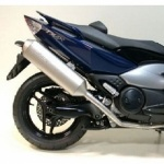 POT ECHAPPEMENT MAXISCOOT LEOVINCE 4 ROAD ADAPT. YAMAHA TMAX 500