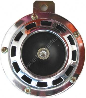 klaxon moto chrom 105 db 12 v. Black Bedroom Furniture Sets. Home Design Ideas