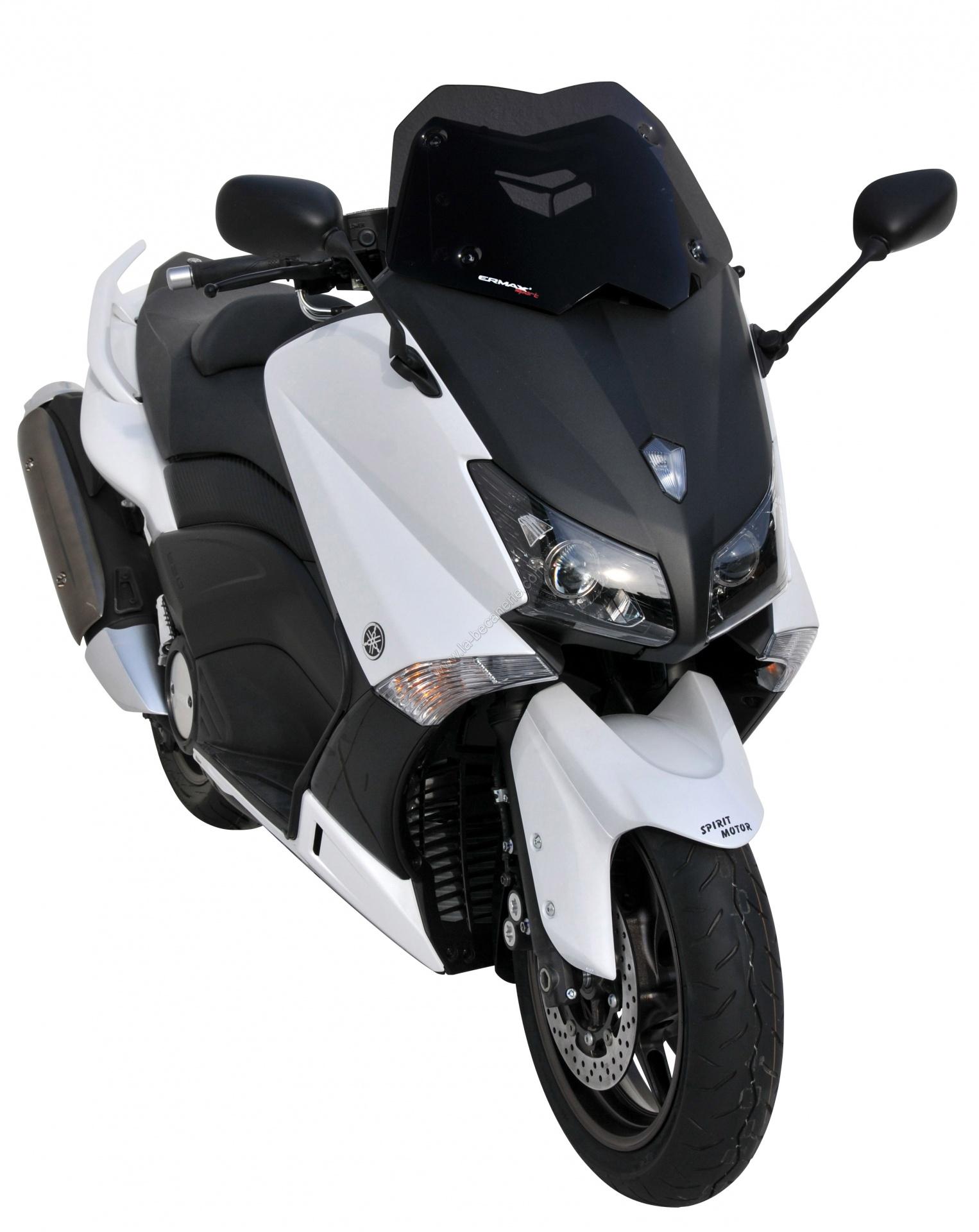 pare brise scooter ermax pour yamaha 530 t max 2012 noir fonc. Black Bedroom Furniture Sets. Home Design Ideas