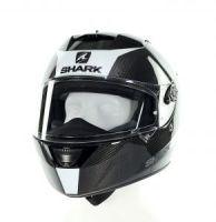 casque int gral shark speed r mxv carbon skin noir blanc casques moto sur la b canerie. Black Bedroom Furniture Sets. Home Design Ideas