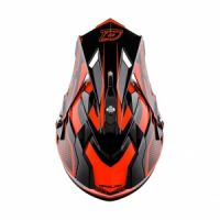 Casque cross O'Neal 2 Series Evo Manalishi noir/orange - 2