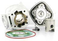 Cylindre Culasse D.40 Malossi MHR Team Replica Derbi Euro 3 - 1