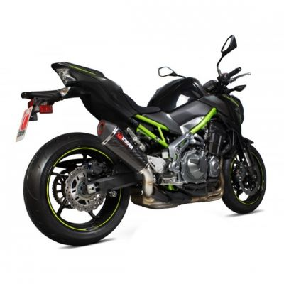 Silencieux Scorpion Serket Taper carbone Kawasaki Z900 17-18