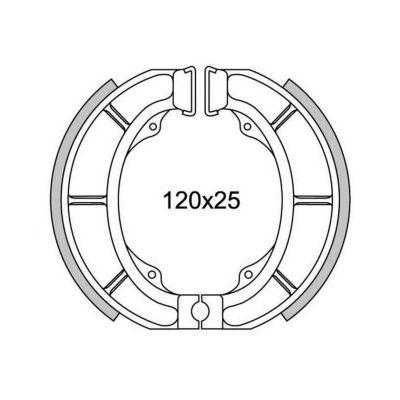 Machoire de frein 1308 ar habana 50 98-, ar mojito 50 03-05