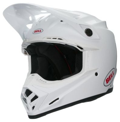 Casque cross Bell Moto 9 Mips Gloss White