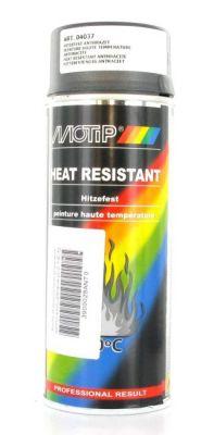 Bombe peinture anthracite haute-température Motip 400ml