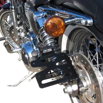 Support de Plaque Lateral Chaft pour Harley Davidson