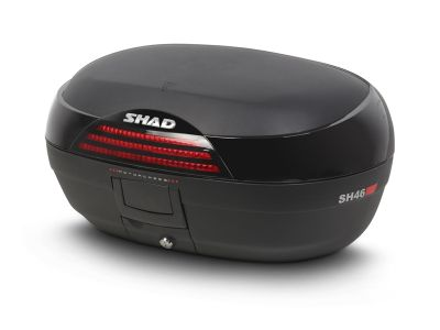 Top case Shad SH46 noir/rouge