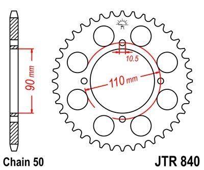 Pignon Jt Sprockets Acier Pas 520 16 Dents Pour Yamaha Xj 550 81 85