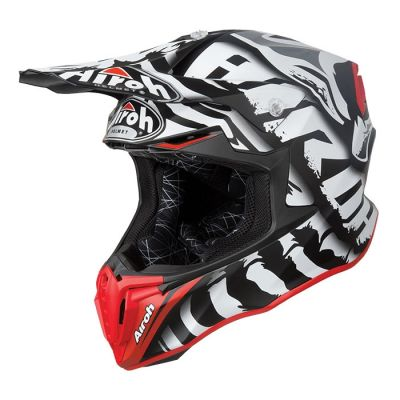 Casque cross Airoh Twist Legend mat