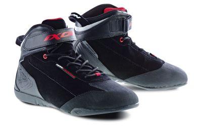 Baskets Ixon SPEEDER WP noir/rouge