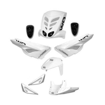 Kit habillage BCD white out MBK Stunt