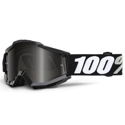 Masque cross 100% Accuri Sand Tornado gris fumé