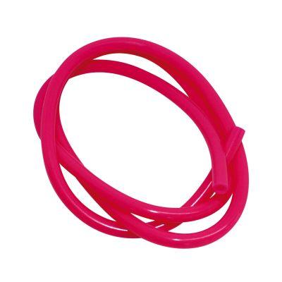 Durite essence ø5 rose fluo (1m)