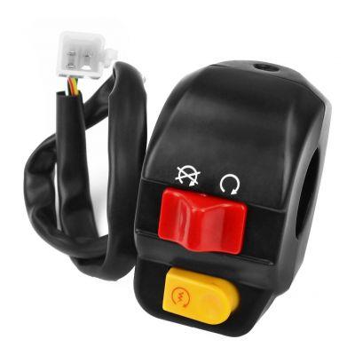 Commodo droit TNT Motor Roma avec allumage automatique des feux