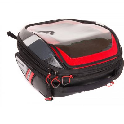 Sacoche de réservoir Bagster Stunt Evo noir/rouge