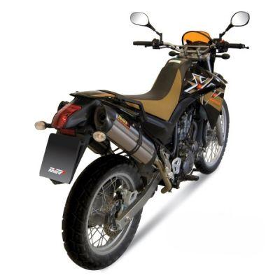 Silencieux double MIVV Suono inox / casquette carbone Yamaha XT660 X / R / Z 04-