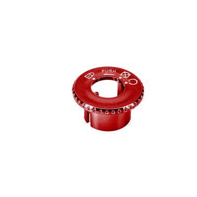 Capuchon de contacteur à clé neiman adaptable pour Booster rouge