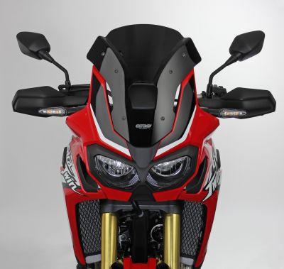 Pare-brise MRA Sport noir Honda CRF1000L Africa Twin 16-18