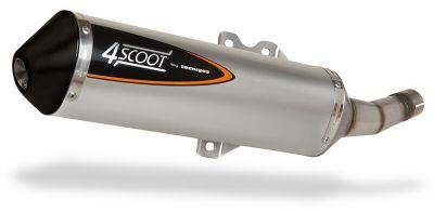Pot d'échappement Tecnigas 4Scoot Yamaha X-Max 125 2007-09