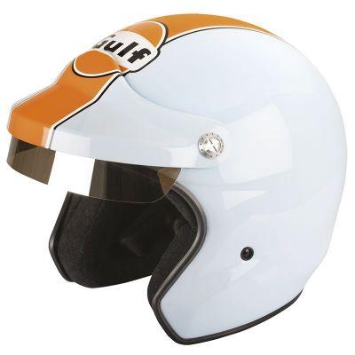 Casque jet Felix Motocyclette ST520 Gulf Le Mans