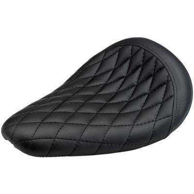 Selle Biltwell Thinline noire coutures losanges