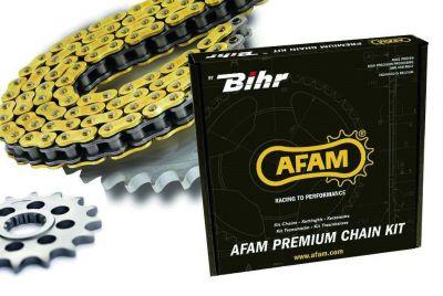 Kit chaîne Afam 525 type XSR2 16/43 couronne standard Yamaha MT-07 ABS 14-18