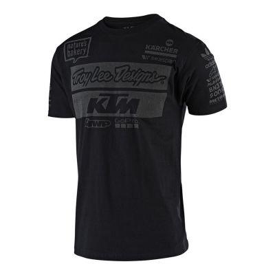 Tee-shirt Troy Lee Designs KTM 2019 noir