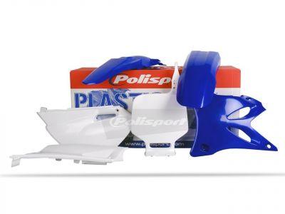Kit plastique Polisport Yamaha 85 YZ 02-12 (bleu/blanc origine02-12)
