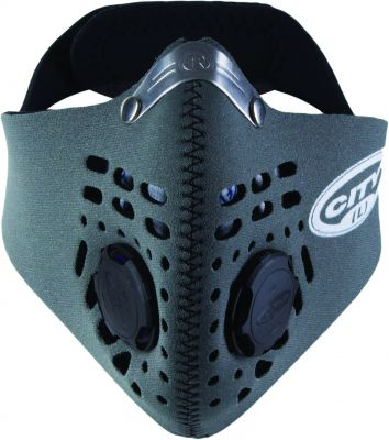 Masque anti-pollution Respro City gris