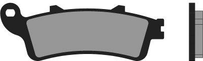 Plaquettes de frein Polini Original Honda Foresight/Silver Wing Peugeot SV250