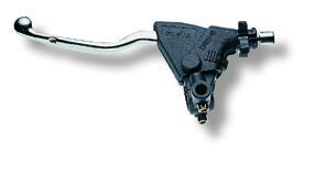 Levier d'embrayage complet Domino pour enduro et trail course 26 mm avec support rétro