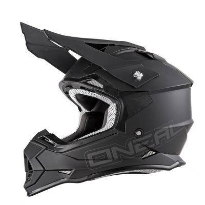 Casque cross O'Neal 2 Series Rl Flat noir
