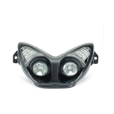 Masque Double Optique Halogènes + Clignotant Leds Nitro