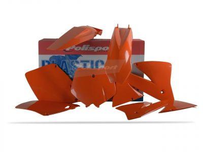 Kit plastique Polisport KTM 300 EXC 01-02 (orange origine)