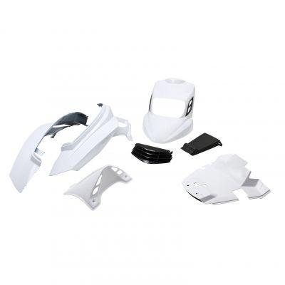 Kit carrosserie BCD V2 MBK Booster 04- blanc