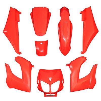 kit habillage 7 pi ces derbi senda xtrem 2003 pi ces car nage sur la b canerie. Black Bedroom Furniture Sets. Home Design Ideas