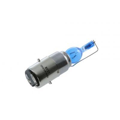 Ampoule 12v 35/35w xénon super bleu ba20d, b35