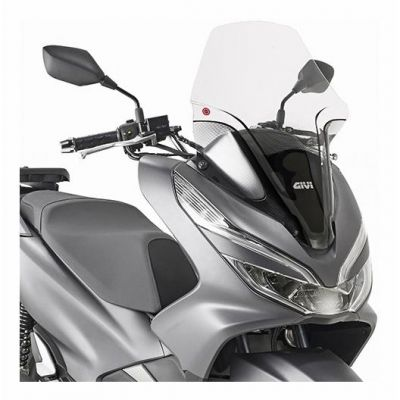 bulle givi incolore honda pcx 125 150 14 pi ces. Black Bedroom Furniture Sets. Home Design Ideas