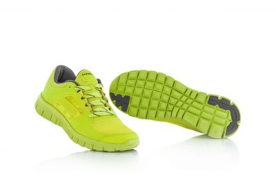 Baskets Acerbis Running Corporate jaune fluo