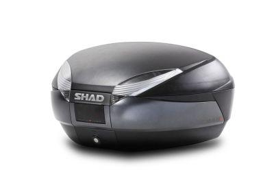 Top case SHAD SH48 Noir/Gris Foncé