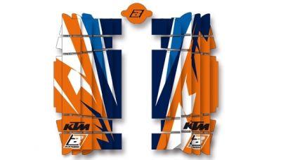 Kit déco de radiateur Blackbird Rockstar Team Trophy réplica 2017 KTM 450 SX-F 16-17
