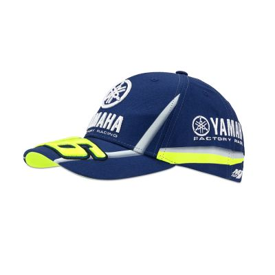 Casquette VR46 Valentino Rossi Yamaha Racing bleu 2018