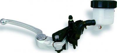Maître cylindre de frein avant Nissin radial noir Ø 19 mm levier argent