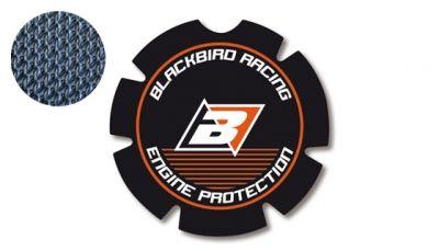 Stickers de couvercle d'embrayage Blackbird KTM 144 SX 08-14 noir/orange