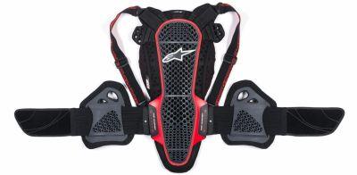 Dorsale Alpinestars NUCLEON KR-3 noire / rouge