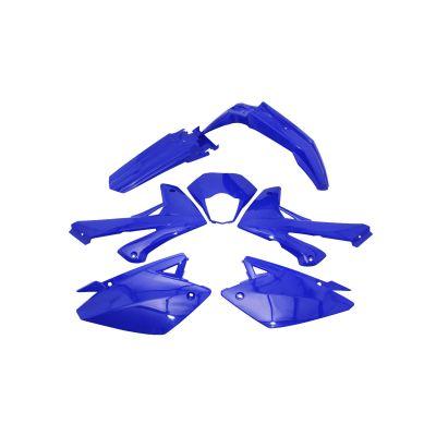 Kit carénage Rieju 50 MRT / MRT Pro 09- bleu brillant