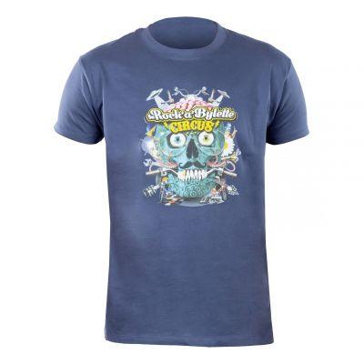T-shirt Rock'a'bylette La Bécanerie bleu