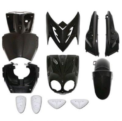 kit plastiques mbk stunt 50 sur la b canerie. Black Bedroom Furniture Sets. Home Design Ideas